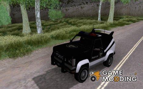 SFPD Sandking для GTA San Andreas