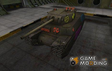 Качественные зоны пробития для T1 Heavy для World of Tanks