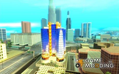 Новая текстура небоскреба for GTA San Andreas