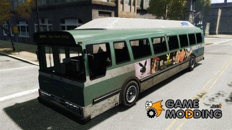 Новая реклама на автобус for GTA 4