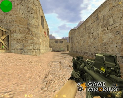 CoD4 Style M4A1 for Counter-Strike 1.6