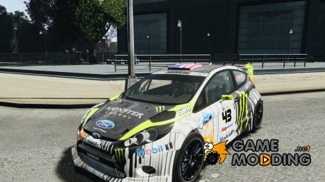 Ford Fiesta RS WRC Gymkhana v1.0 for GTA 4