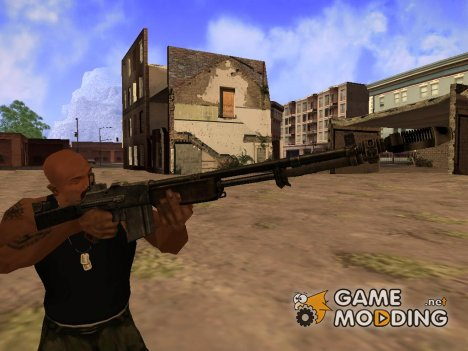 Browning M1918 для GTA San Andreas