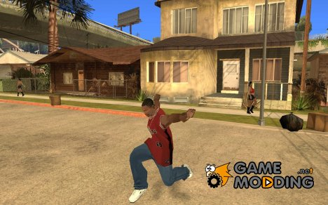 GTA 4 Anims for SAMP v2.0 для GTA San Andreas