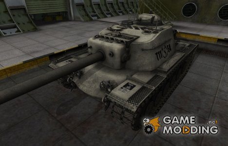 Отличный скин для T110E4 для World of Tanks