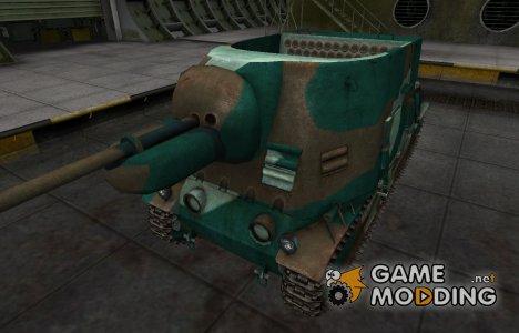 Французкий синеватый скин для S35 CA для World of Tanks
