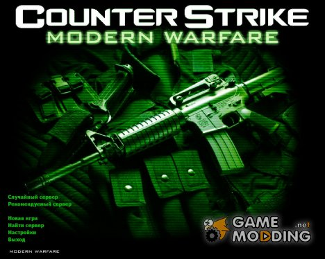 CS Modern Warfare GUI for Counter-Strike 1.6