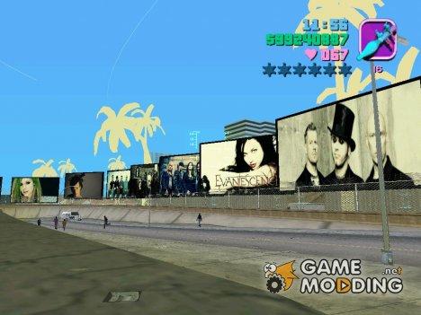 Новые рекламные щиты для GTA Vice City