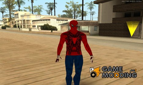 Wrestler Spiderman для GTA San Andreas