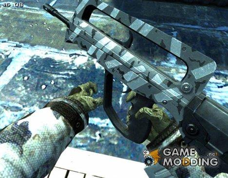 MW2 FAMAS With Options для GTA 4