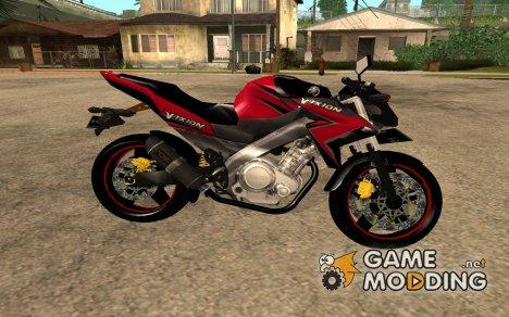 Yamaha New Vixion Modif 2014 для GTA San Andreas