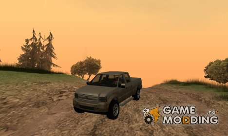 Sadler by Vapid GTA V для GTA San Andreas
