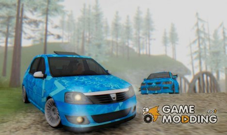 Dacia Logan Blue Star for GTA San Andreas