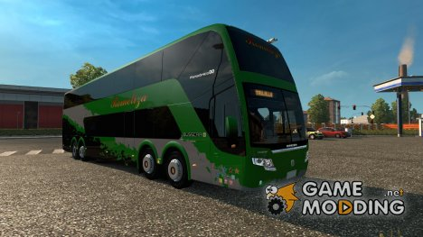 Busscar Elegance Panoramico DD 8×2 for Euro Truck Simulator 2