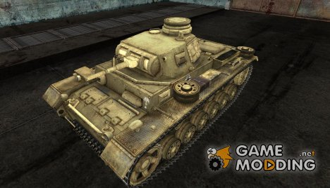 PzKpfw III 11 for World of Tanks