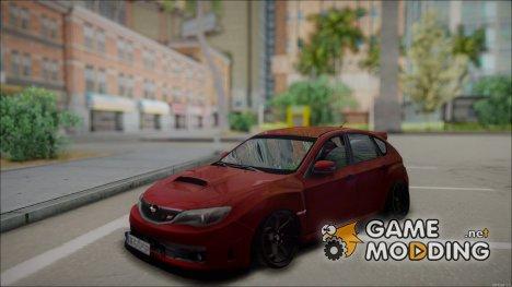 Subaru Impreza WRX STI Hatchbag for GTA San Andreas