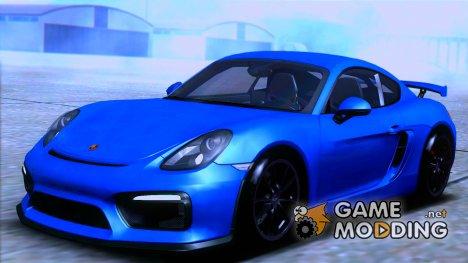 Porsche Cayman GT4 981C 2016 для GTA San Andreas