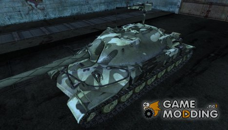 Шкурка для ИС-7 от Paull_777 для World of Tanks