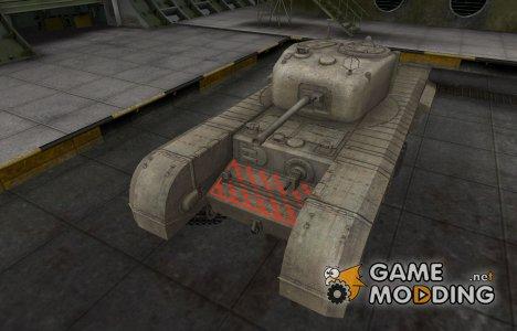 Качественные зоны пробития для Churchill VII для World of Tanks