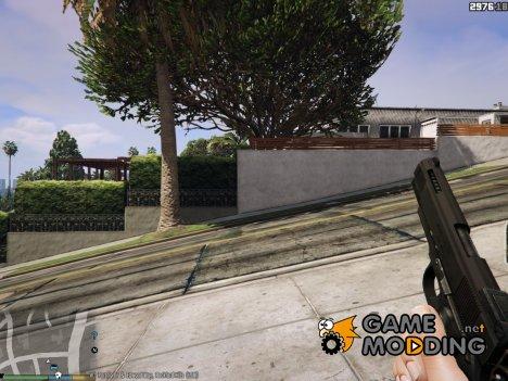 Colt M1911 Black 1.0.0 для GTA 5