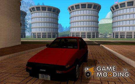 Toyota Sprinter Trueno AE86 GT-Apex for GTA San Andreas