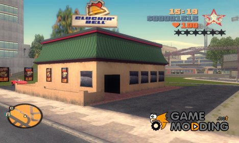 Cluckin' Bell for GTA 3