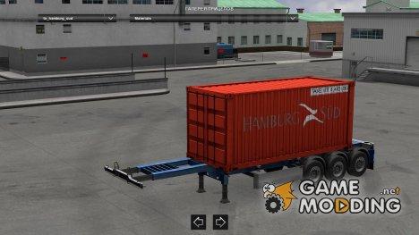 Hamburg Sud Container для Euro Truck Simulator 2