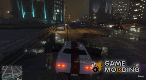 Deadly Car Doors Mod v1.0	   для GTA 5