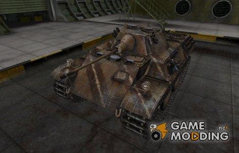Исторический камуфляж VK 16.02 Leopard для World of Tanks