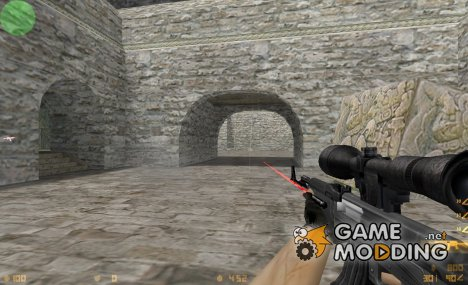 Ak-47 With Scope And Laser for Counter-Strike 1.6