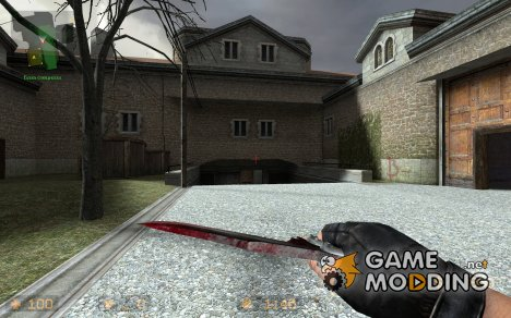 Bloody butterfly V2 for Counter-Strike Source
