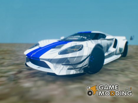 Ford GT by The Ghost 2017 для GTA San Andreas
