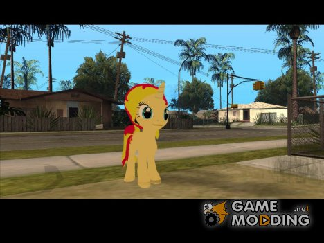 Sunset Shimmer (My Little Pony) for GTA San Andreas