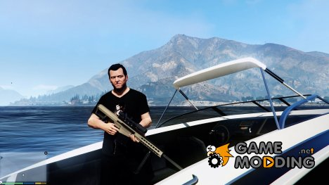 Battlefield 4 M82A3 for GTA 5