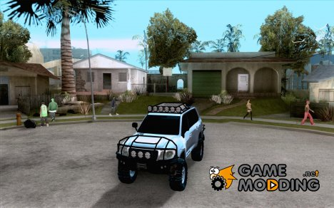 Toyota Land Cruiser 200 Off Road v1.0 для GTA San Andreas