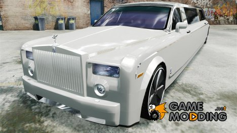 Rolls Royce Phantom Sapphire Limousine - Disco Limo для GTA 4