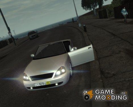 ВАЗ 2170 Кабриолет for GTA 4