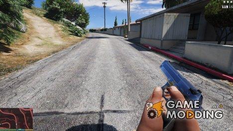 Beretta M9 (Chrome) for GTA 5