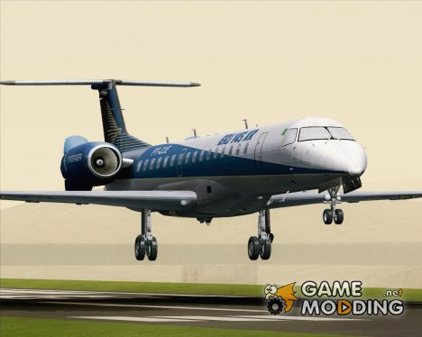 Embraer ERJ-145XR Embraer House Livery (PT-ZJE) for GTA San Andreas