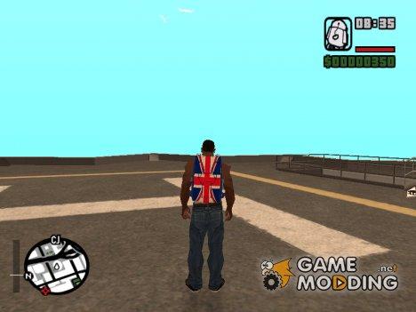 Британский парашют из GTA V online for GTA San Andreas