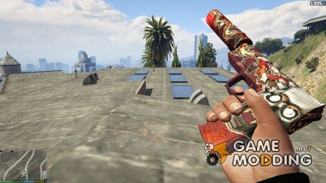 USP-S Kill Confirmed for GTA 5