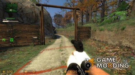 Пак качественного оружия + перчатки для Counter-Strike Source