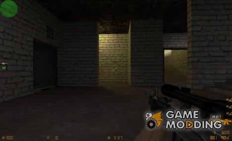 m4a1+ak47 sylver edition для Counter-Strike 1.6