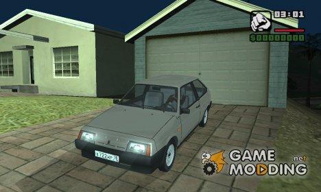 Авто которые ездят по России для GTA San Andreas