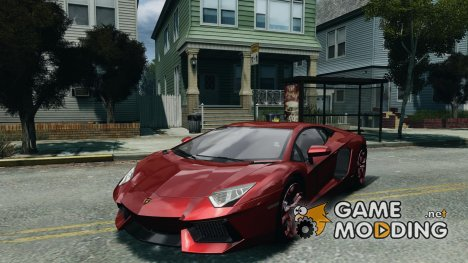 Lamborghini Aventador LP700-4 v1.0 for GTA 4