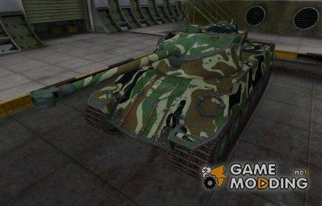 Скин с камуфляжем для Lorraine 40 t for World of Tanks