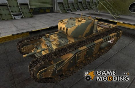 Шкурка для Churchill I для World of Tanks