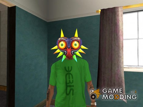 Majora mask for GTA San Andreas