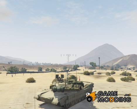 M1A2 Abrams v1.1 for GTA 5