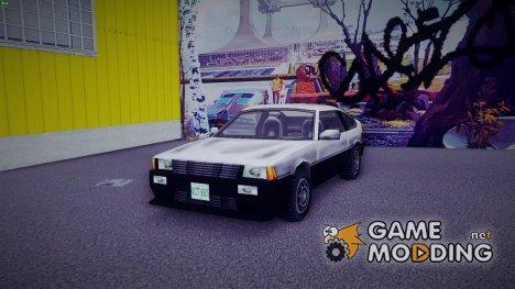 Blista Compact Mod for GTA 3